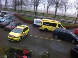 Ambulances voor de deur